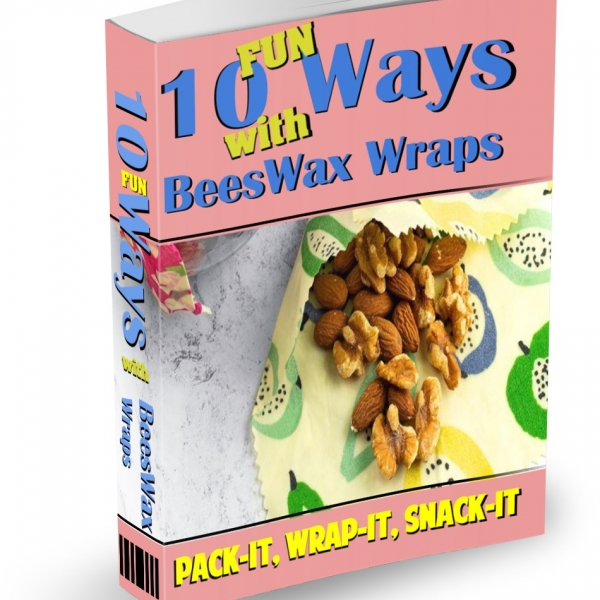 How to Fold Beeswax Wraps