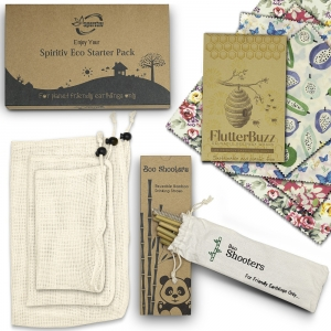 eco gift set cotton beeswax wraps