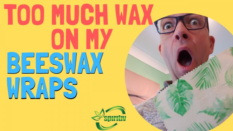 too much wax on my beeswax wraps